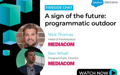 A sign of the future: programmatic outdoor.