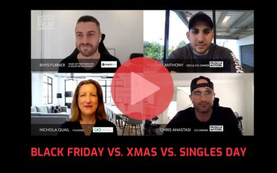 Black Friday vs. Xmas vs. Singles Day