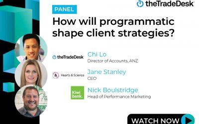 How will programmatic shape client strategies?