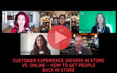 Customer experience drivers in store vs. online