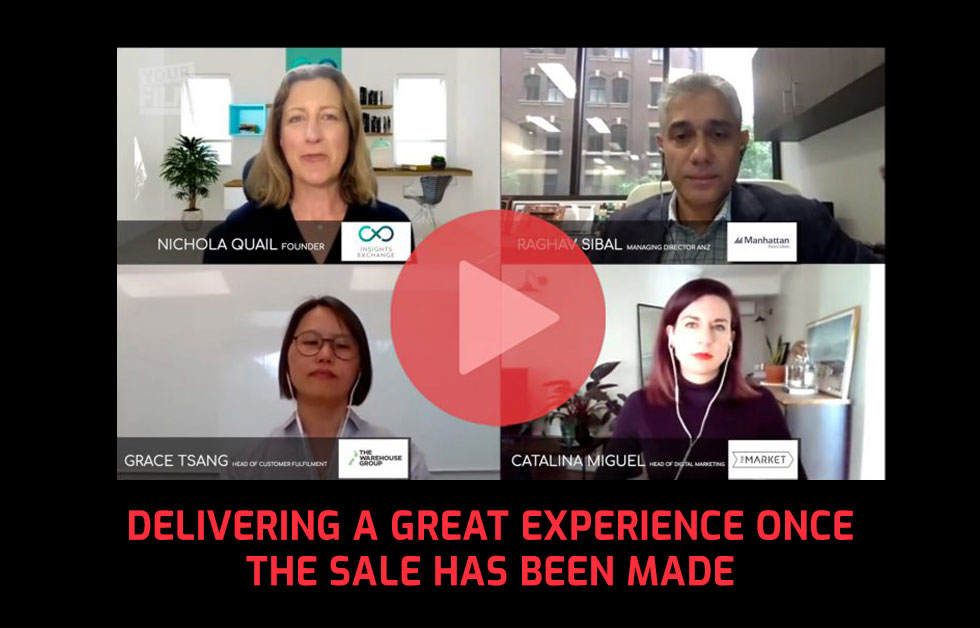 Delivering a great experience once the sale has been made