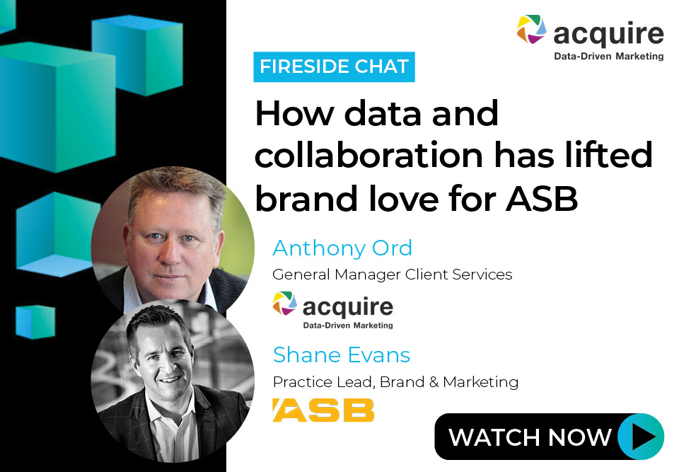 How data and collaboration has lifted brand love for ASB