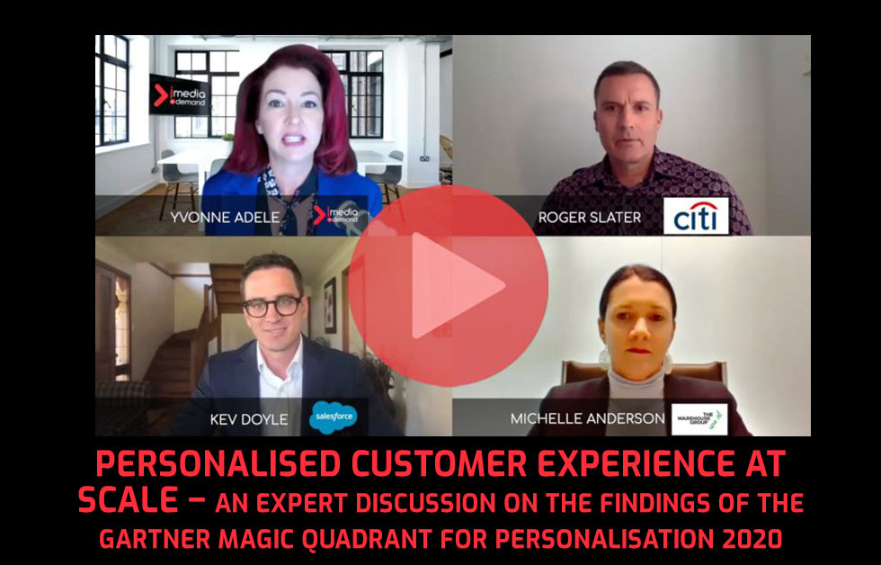 Personalised customer experience at scale