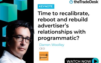 Time to recalibrate, reboot and rebuild advertiser's relationships with programmatic?