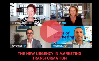 The New Urgency in Marketing Transformation