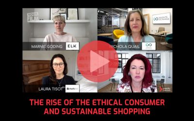 The rise of the ethical consumer and sustainable shopping