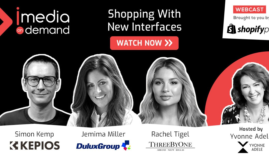 Shopping with new interfaces