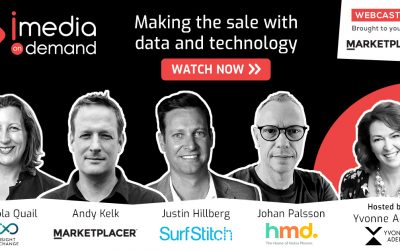 Making the sale with data and technology